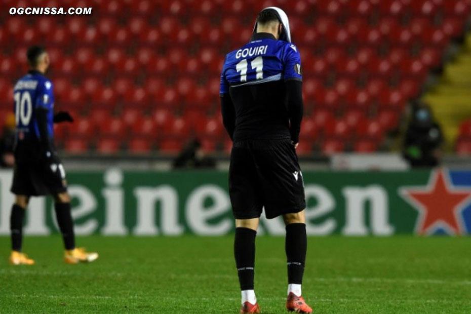 Amine Gouiri et les siens s'incline 3 buts à 2