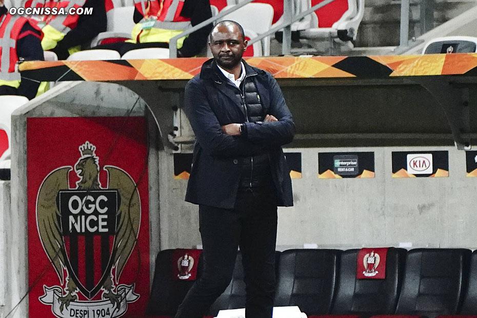 Patrick Vieira et les siens ont maintenant rendez-vous avec Dijon en Ligue 1, dimanche prochain.