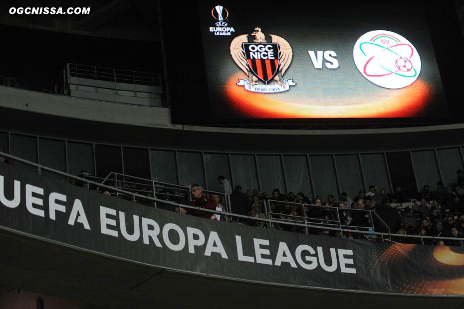 Nice reçoit Zulte Waregem pour la 5e journée d'Europa League