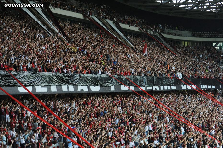 Clapping en BSN pour ce premier match à la saison à domicile