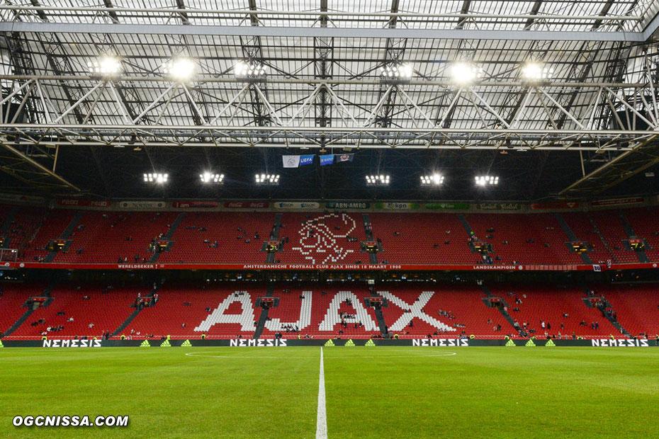 Déplacement à l'Amsterdam Arena pour ce match retour