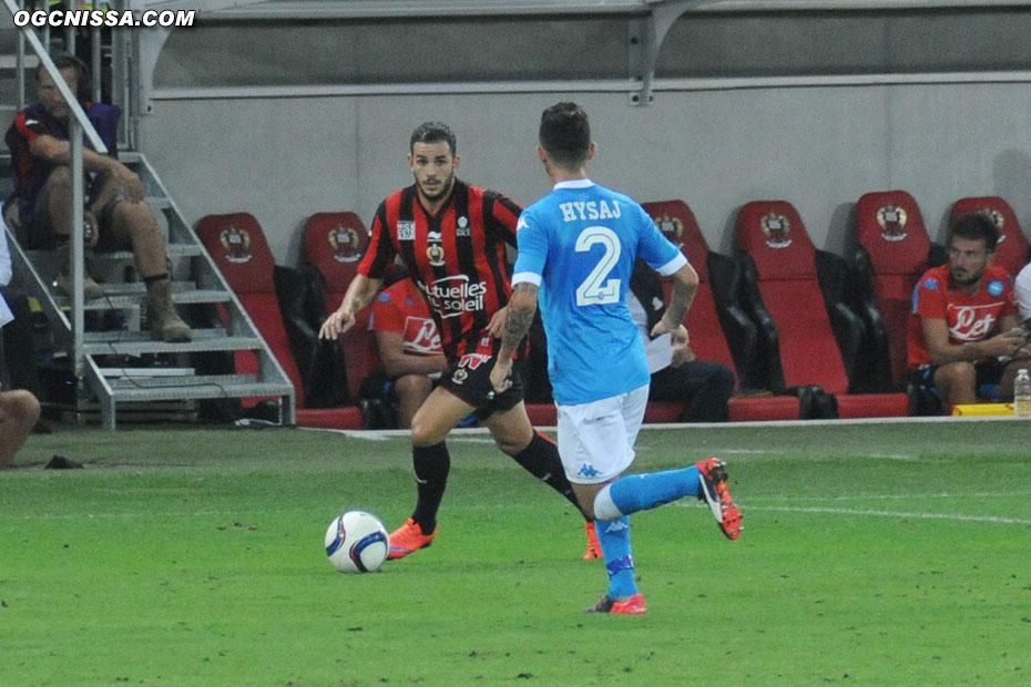 En fin de match, Puel fait tourner en faisant rentrer Valentin Eysseric