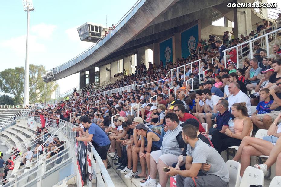Beaucoup de supporters pour cette rencontre amicale contre le TFC
