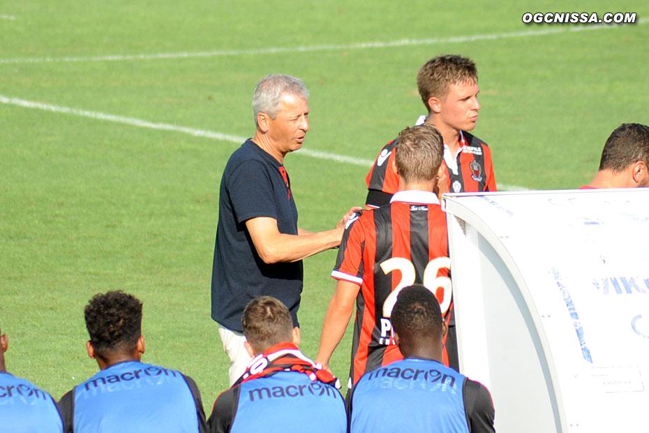Le nouveau coach Lucien Favre