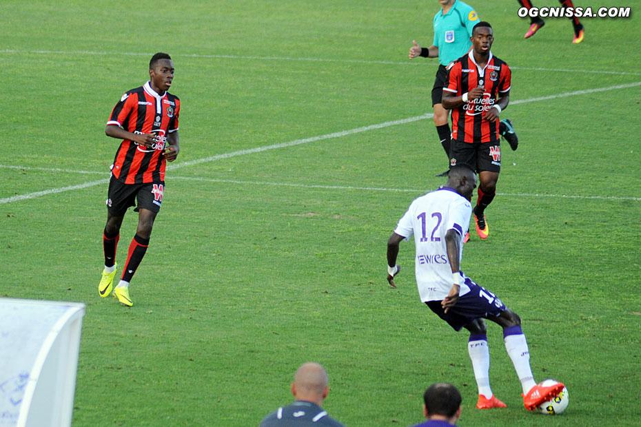 Arnaud Lusamba et Wylan Cyprien