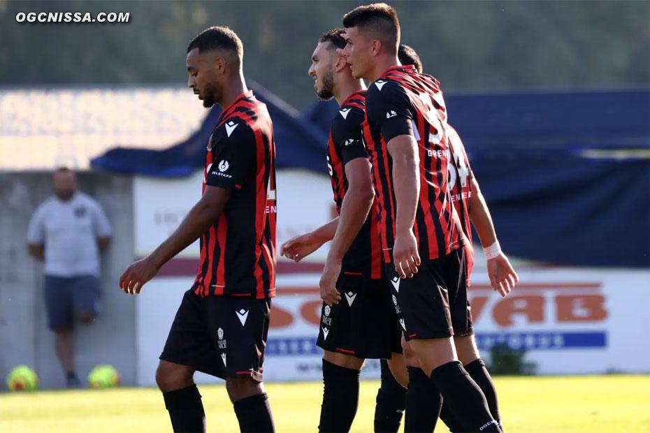 Alexis Claude Maurice, Amine Gouiri et Flavius Daniliuc