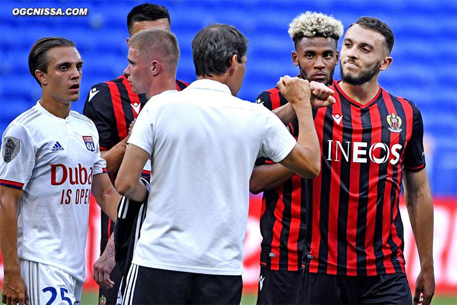 Amine Gouiri salue son ancien coach