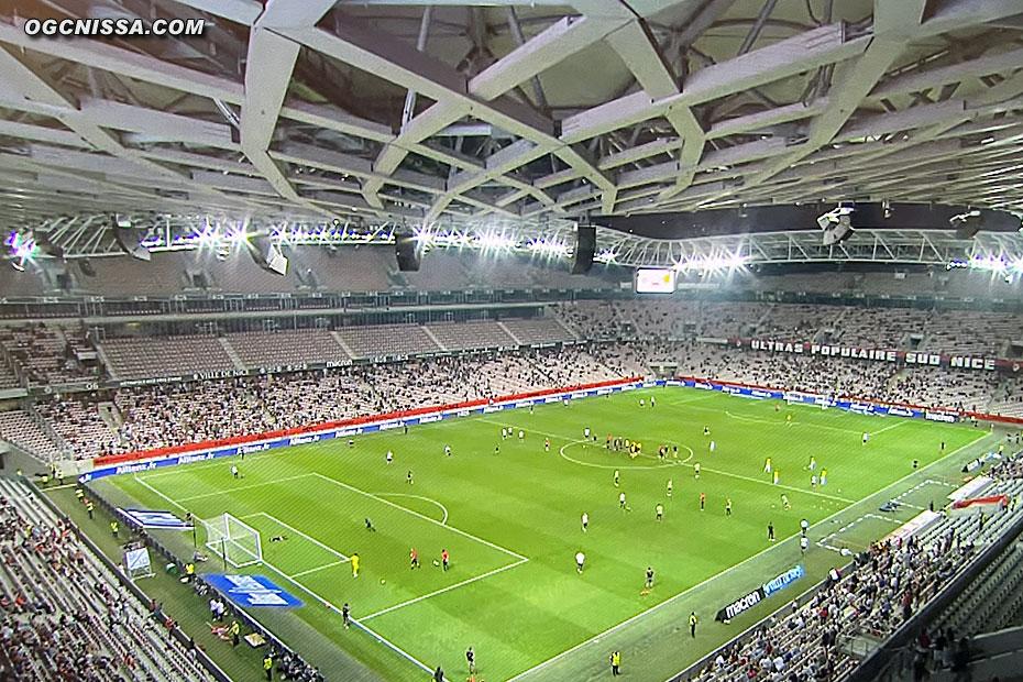 Retour des supporters à l'Allianz Riviera pour cette dernière rencontre amicale contre le Milan AC