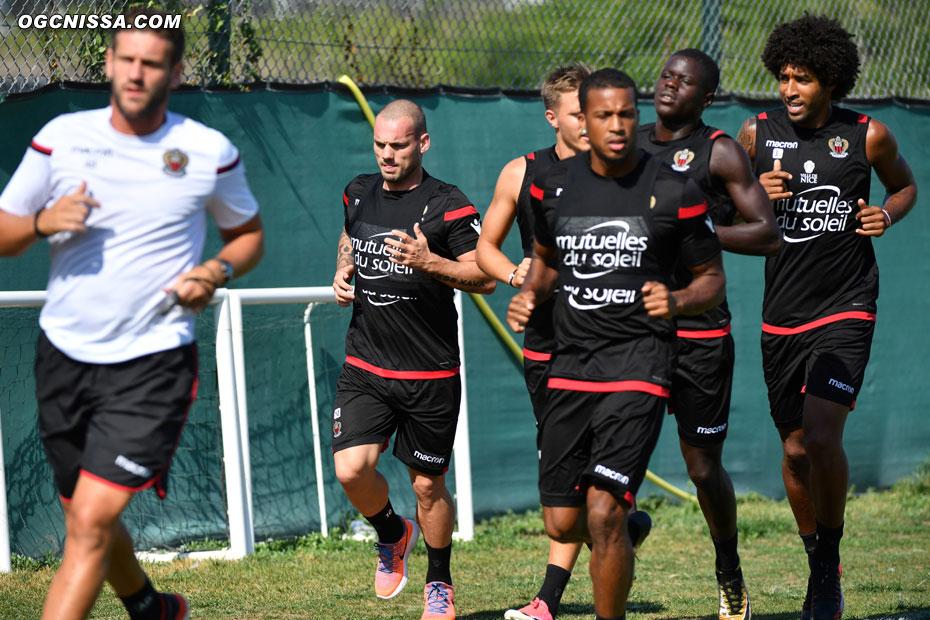 Wesley Sneijder Dante Bonfim