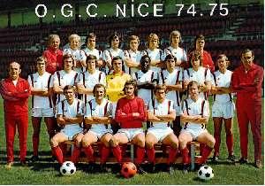 OGC Nice 1974/1975