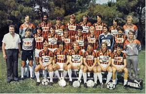 OGC Nice 1985/1986