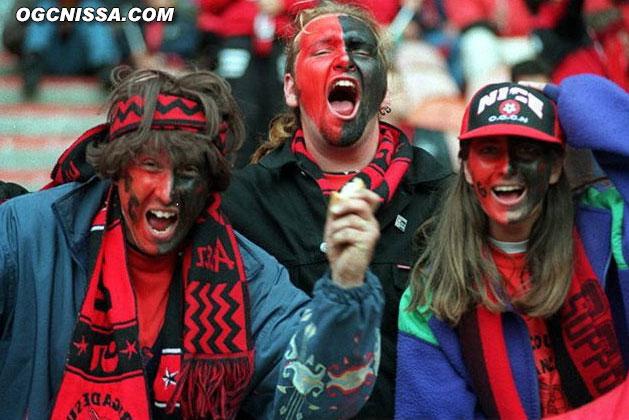 Les supporters avant la finale