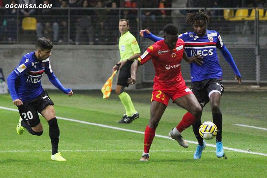Youcef Atal et Adrien Tameze
