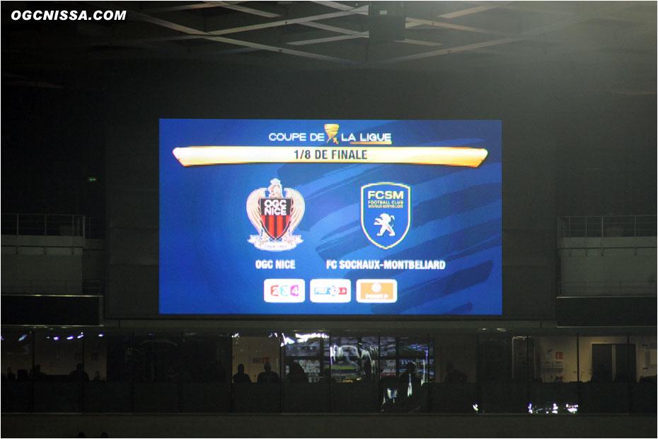 Nice reçoit Sochaux ce mercredi 18 décembre pour les 8es de finale de la coupe de la ligue.