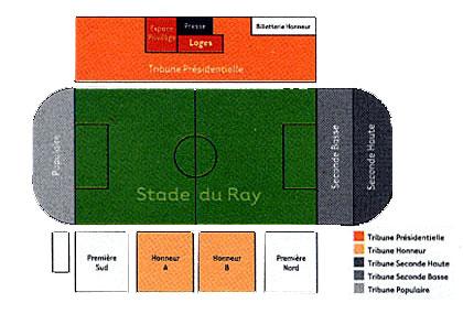 Le stade du Ray Ray