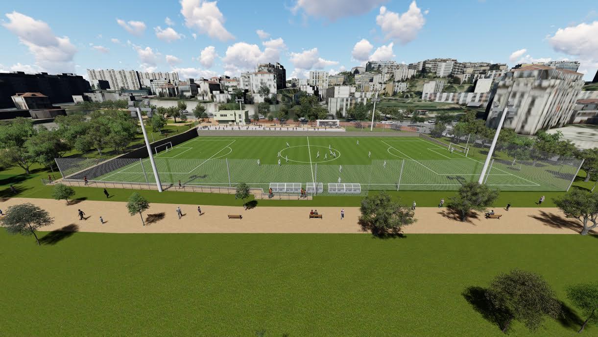 forum du gym voir le sujet il y aura un nouveau terrain de foot au stade du ray. Black Bedroom Furniture Sets. Home Design Ideas